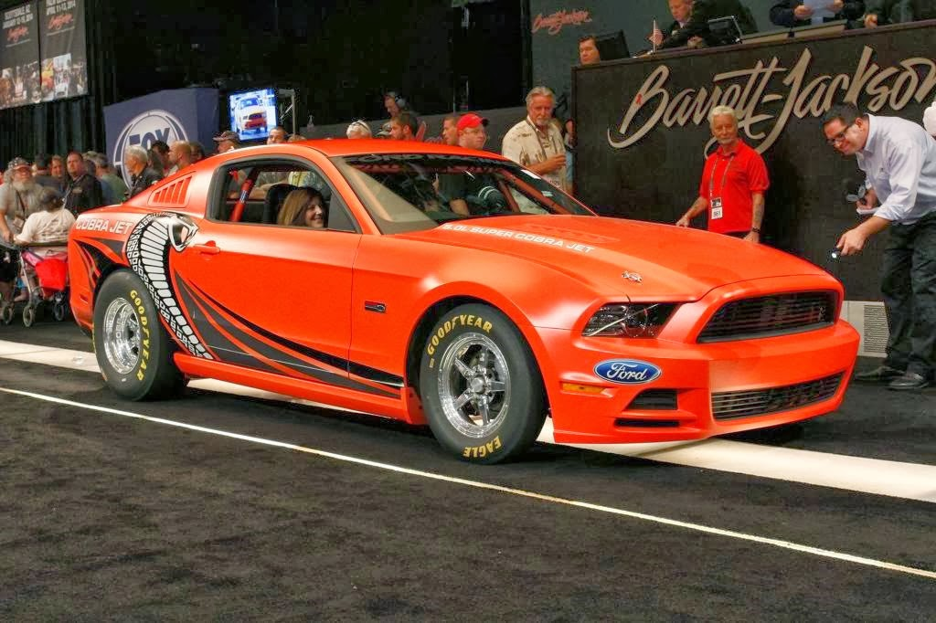 Ford Sells 2014 Ford Mustang Cobra Jet Prototype for $200K