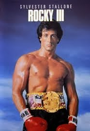 Rocky 3 - Starring Sylvester Stallone, Carl Weathers, Burgess Meredith, Talia Shire and Burt Young - Released in 1982