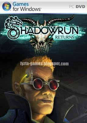Shadowrun Returns PC Cover