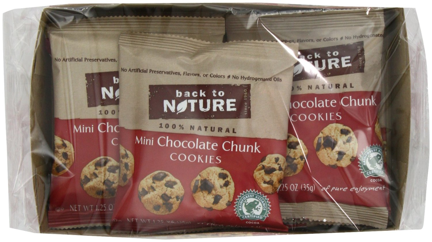 Back to Nature Mini Chocolate Chunk Cookies | Citrus Lane May Box: Look at the Loot