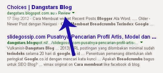 How to Add Breadcrumb for blogger blog