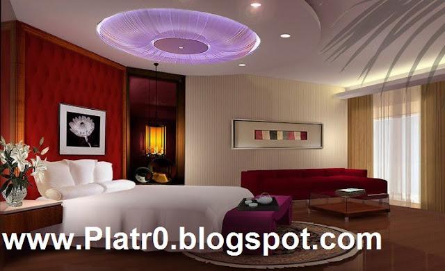 Platre 2016 Chambre Coucher - Décoration Platre Maroc - Faux Plafond ...