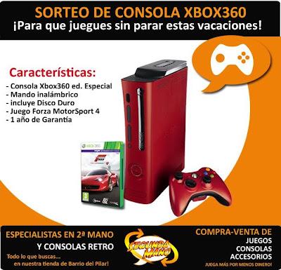 Alvicius sortea una Xbox 360 y un juego Forza 4