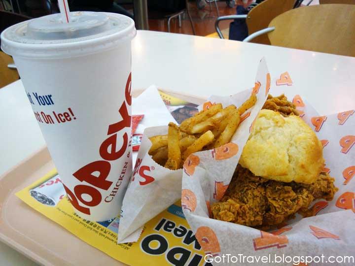 popeyes fried chicken hong kong