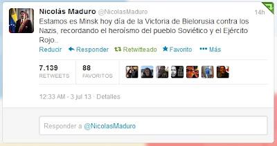 Nicolás Maduro Bielorrusia