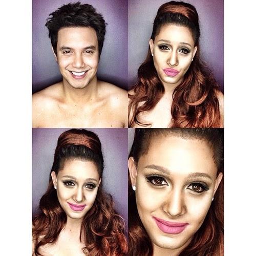 Paolo Ballesteros pochoy29 makeup ariana grande