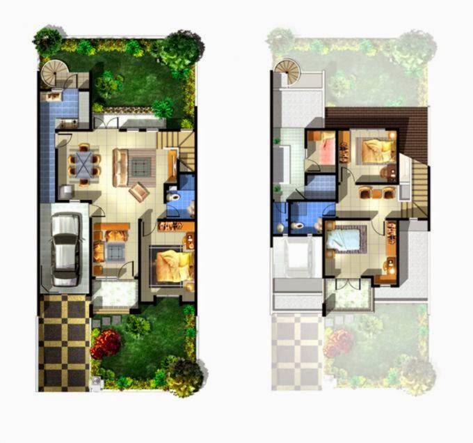 Layout Rumah Minimalis Design Rumah Minimalis