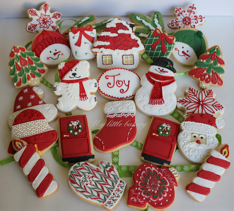 My Little Bakery Christmas Cookie Set