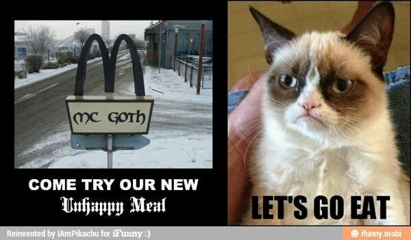 Grumpy Cat Unhappy Meal