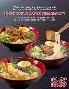 What's your Ramen personality?  Click on the pic to know and get to win GC's!