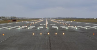 Lagos Airport Runway lights