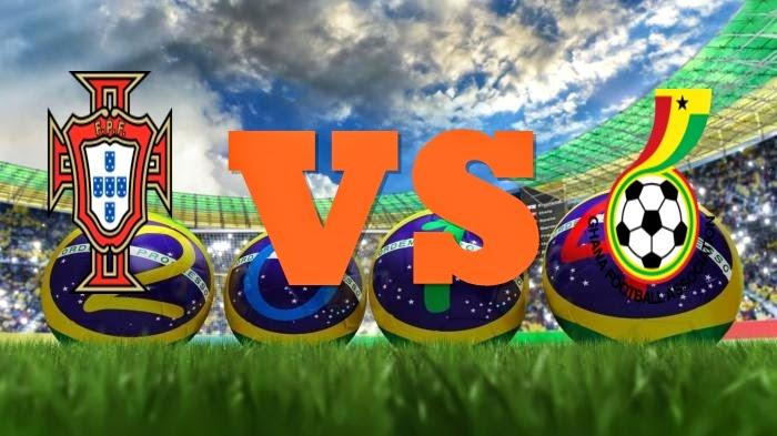 Prediksi Skor FIFA World Cup Terjitu Portugal vs Ghana jadwal 26 Juni 2014
