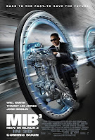 Men In Black 3-D poster