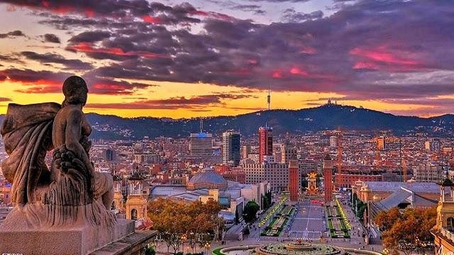 Imigração para entrar em Barcelona