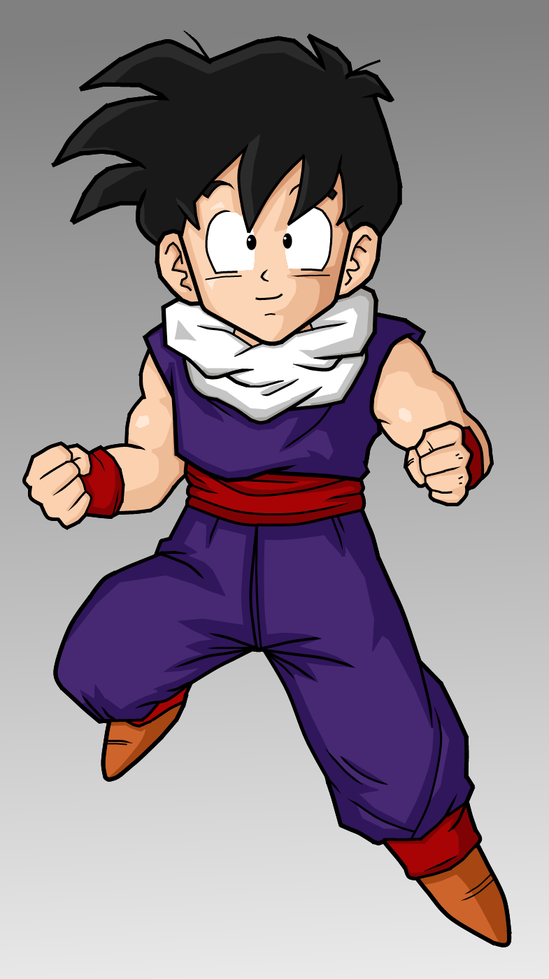 Dragon ball z wallpapers kid gohan - Dragon ball z gohan images ...