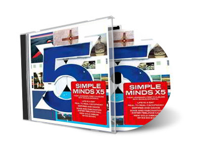 Cd Simple Minds – X5 (2012)
