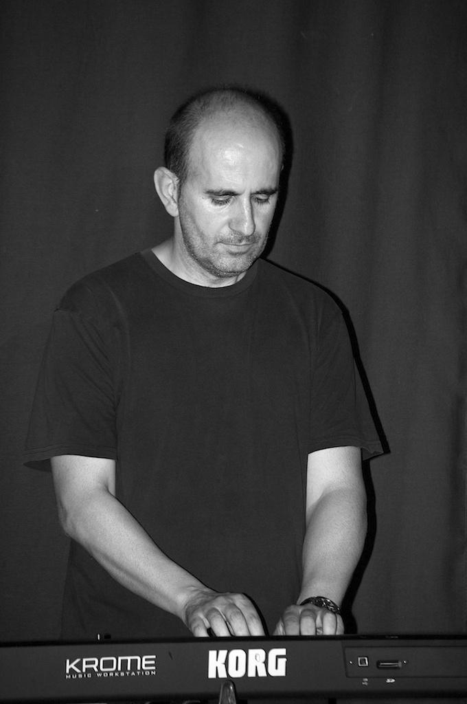 Xavi Sena, teclista de Agon Band