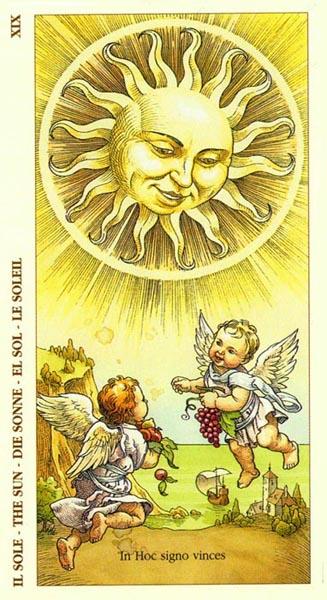Il Sole tarocchi