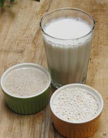 Cách làm sữa gạo rang mát lành mùa hè
