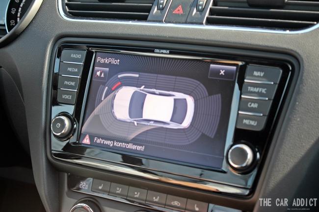Skoda Octavia RS - Parkign Sensors