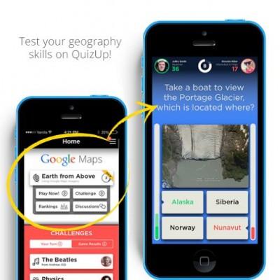 Game QuizUp Tambahkan Materi Dari Google Maps