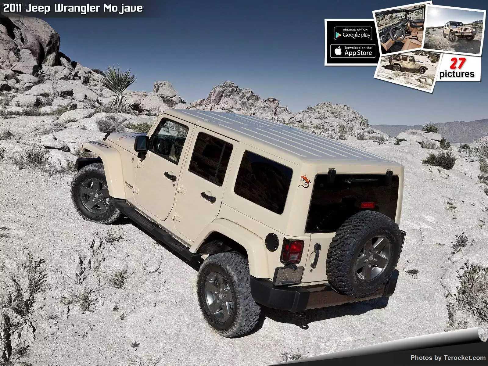Hình ảnh xe ô tô Jeep Wrangler Mojave 2011 & nội ngoại thất