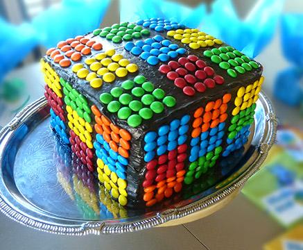 Inspiring Ideas with artist Jeanne Winters Rubiks Cube Boy