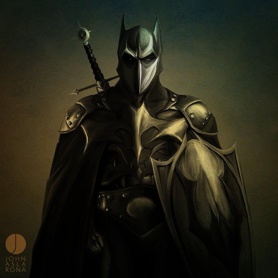 Fashion And Action Alternate Dark Knights Medieval Batman Fan Art