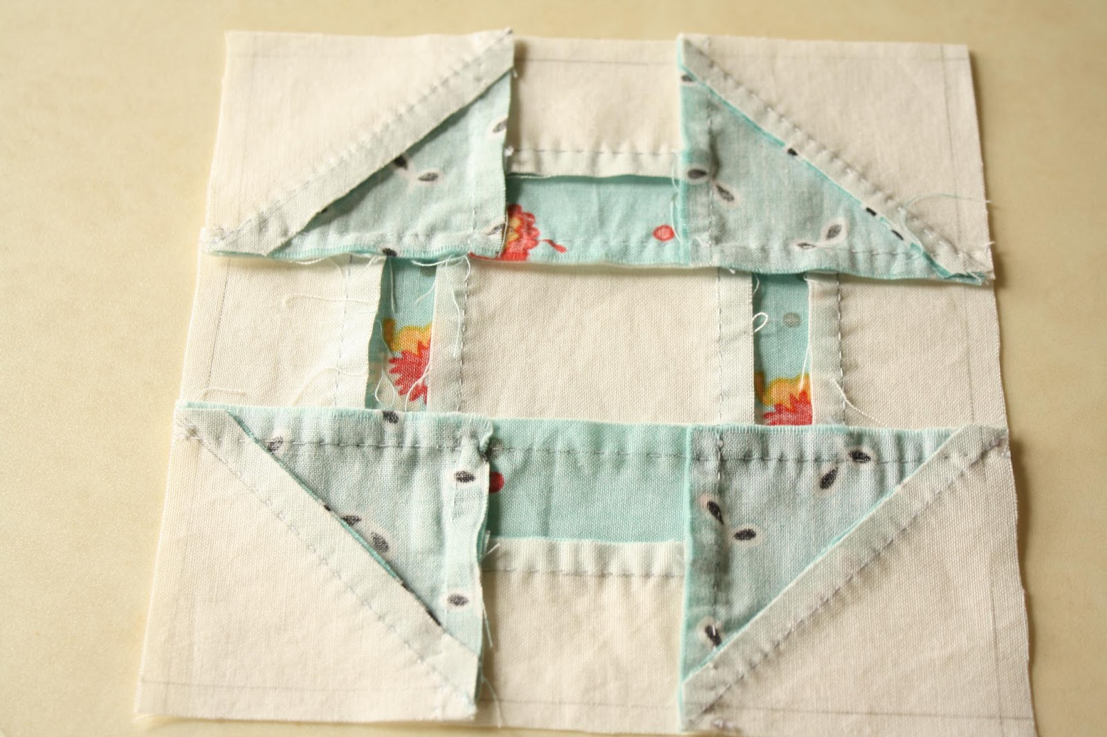 Traditional Hand Quilting Patterns : Clover & Violet Why Not Sew? Quilts Hand Pieced Quilt Blocks