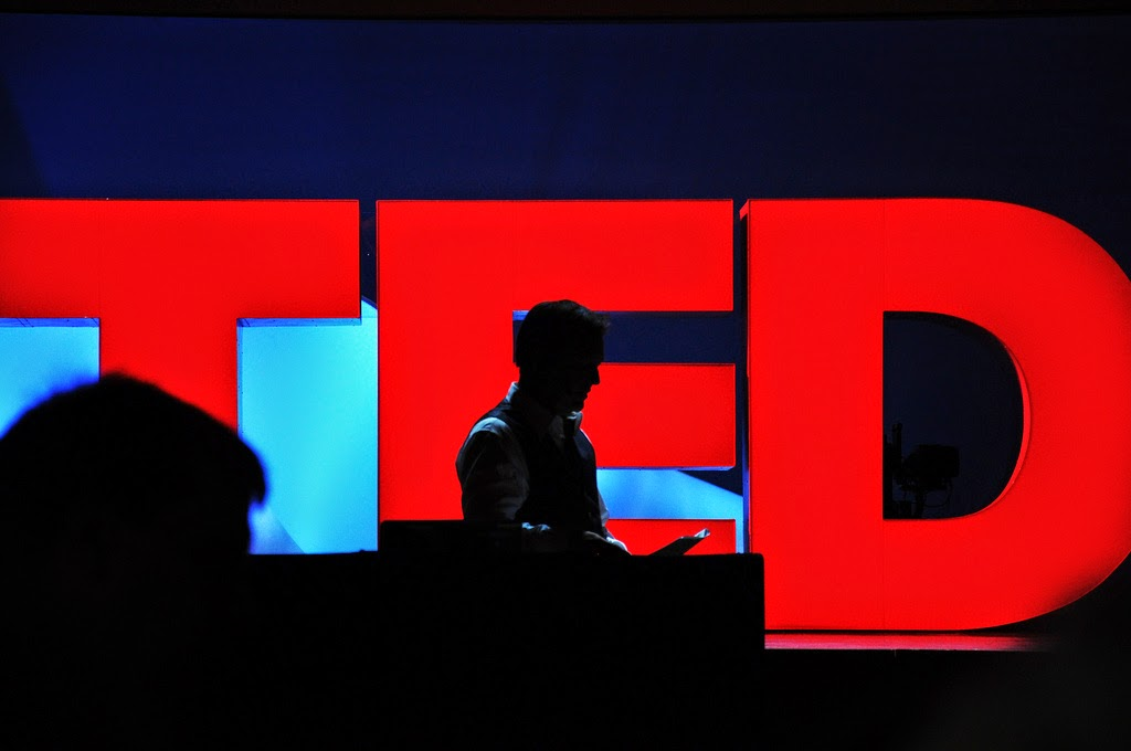 TED's shadow