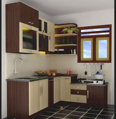 Model dapur minimalis untuk rumah kecil