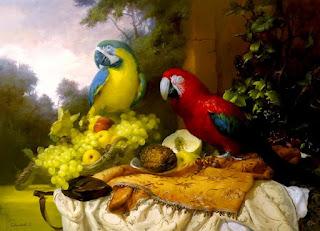 Pinturas De Aves Exoticas