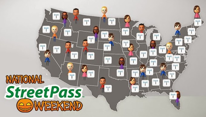 National Streetpass Weekend is coming up