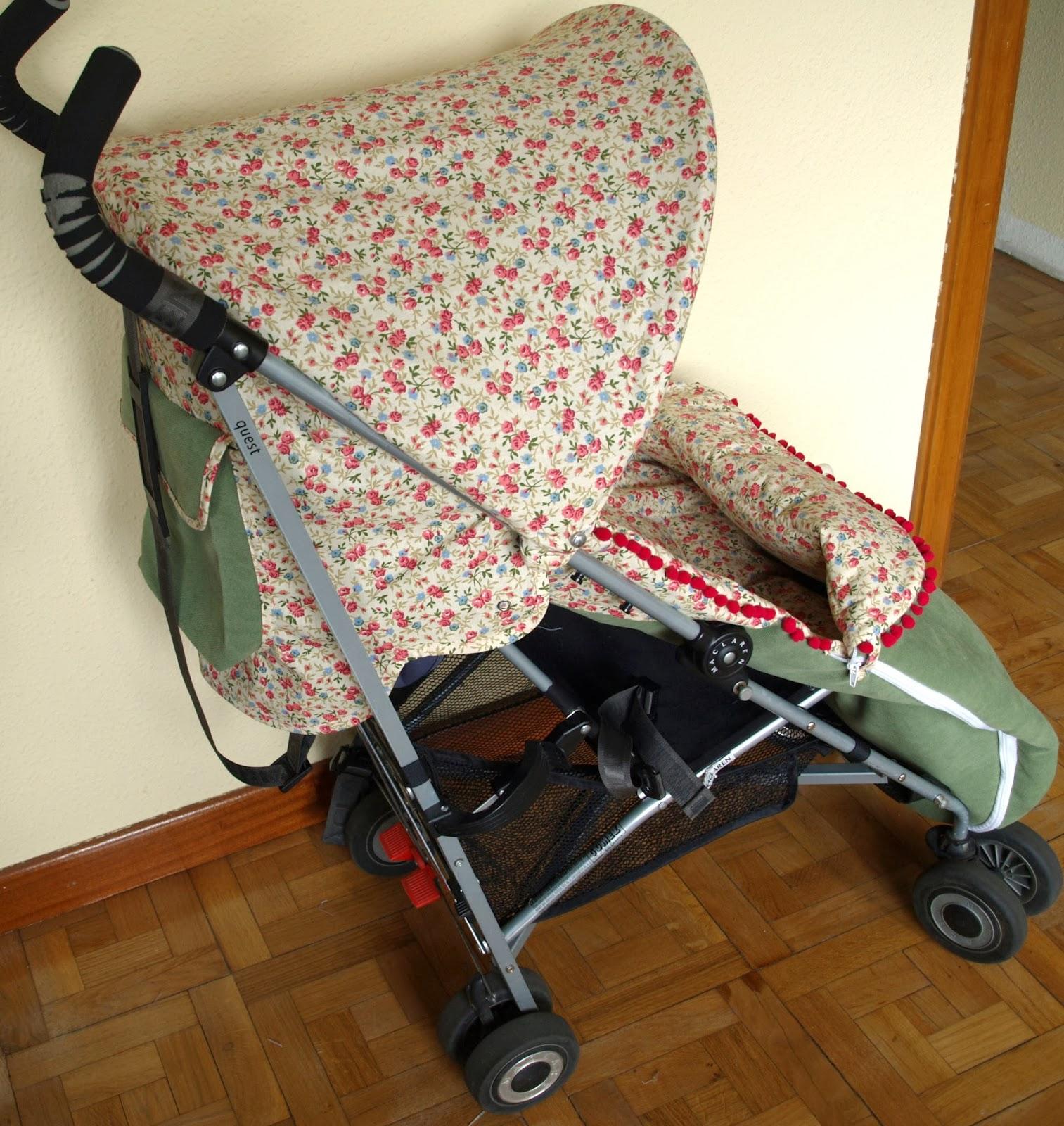 Babymandarina sacos y complementos originales para beb s saco y capota a medida para silla - Sacos para silla maclaren ...