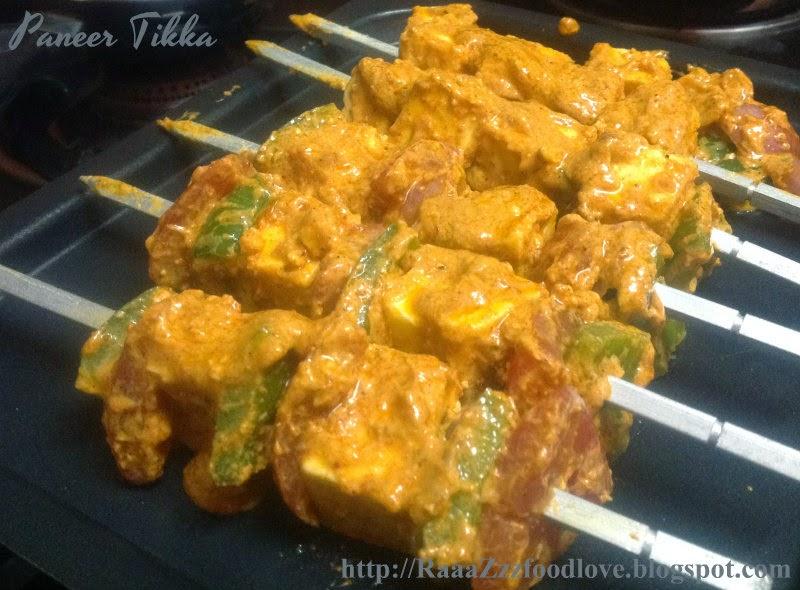 how to make paneer tikka in hindi