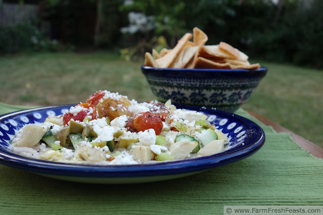 Layered Summer Veggie Appetizer