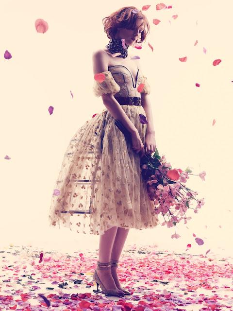 modelos vestidos românticos