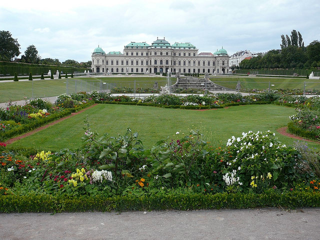 Palacio Belvedere en Viena