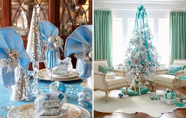 decoracao arvore de natal azul:mais dicas de natal aprenda a fazer 3 árvores de natal diferentes
