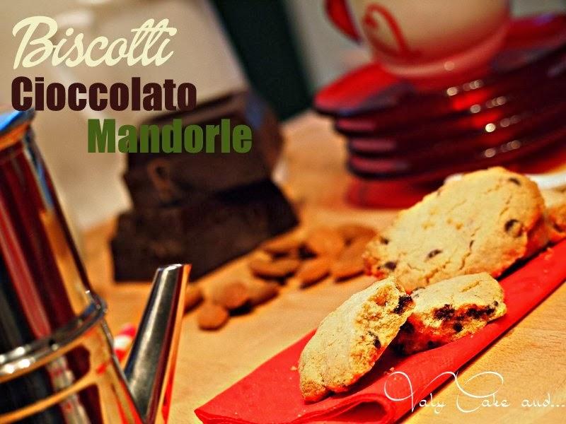 biscotti cioccolato e mandorle senza uova