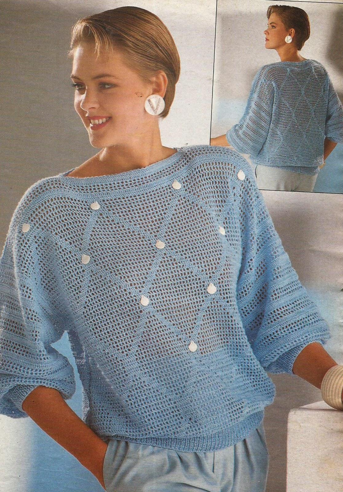Jersey a Crochet