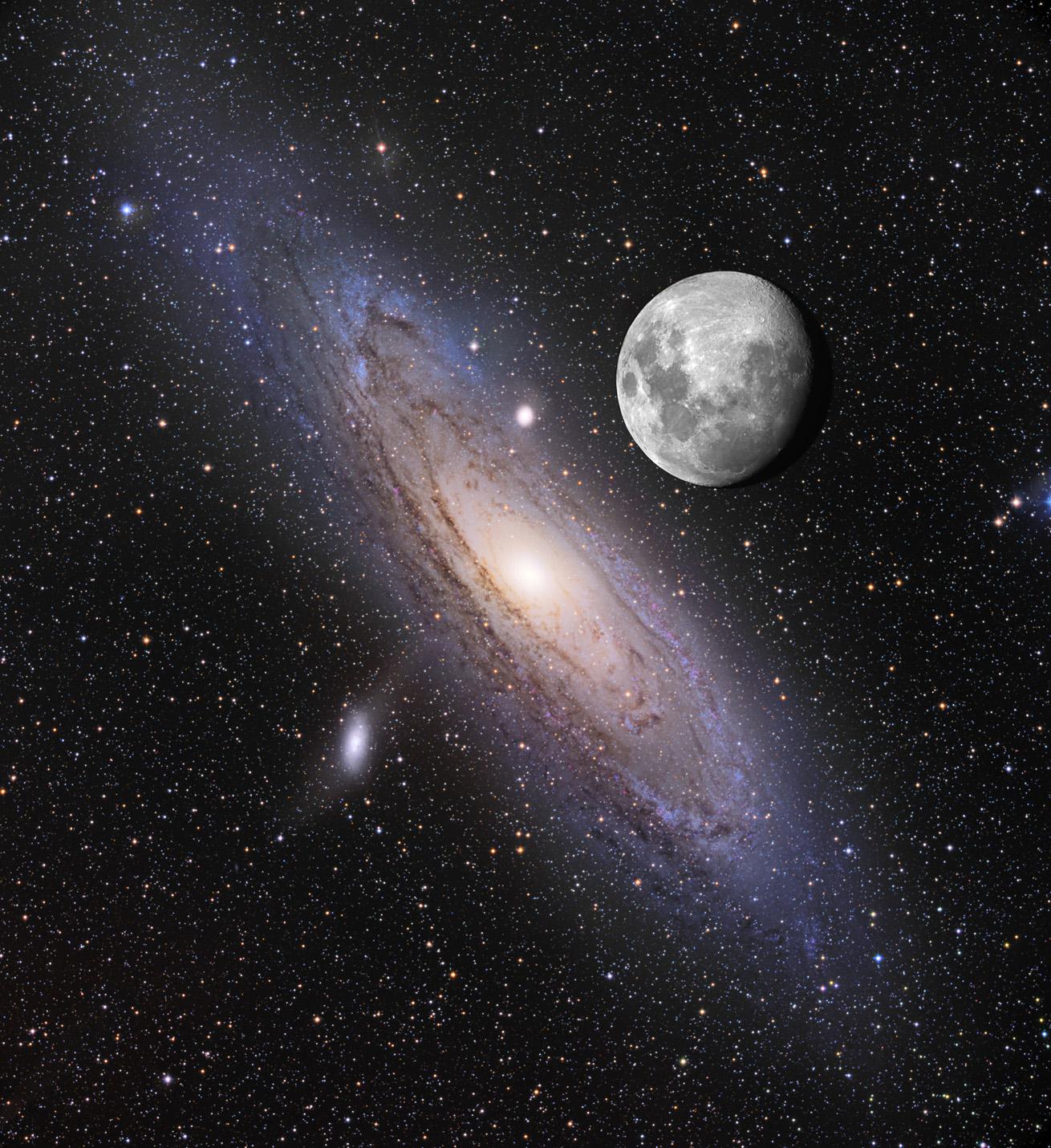 milky way compared to andromeda galaxy - photo #38