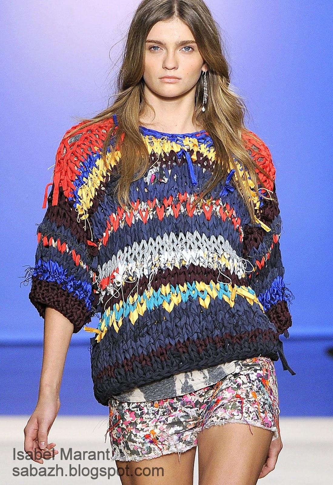 Модное вязание спицами : фото, тенденции 56