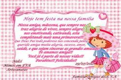 PRESENTE DA FAMILIA AMIGAS DO EVA