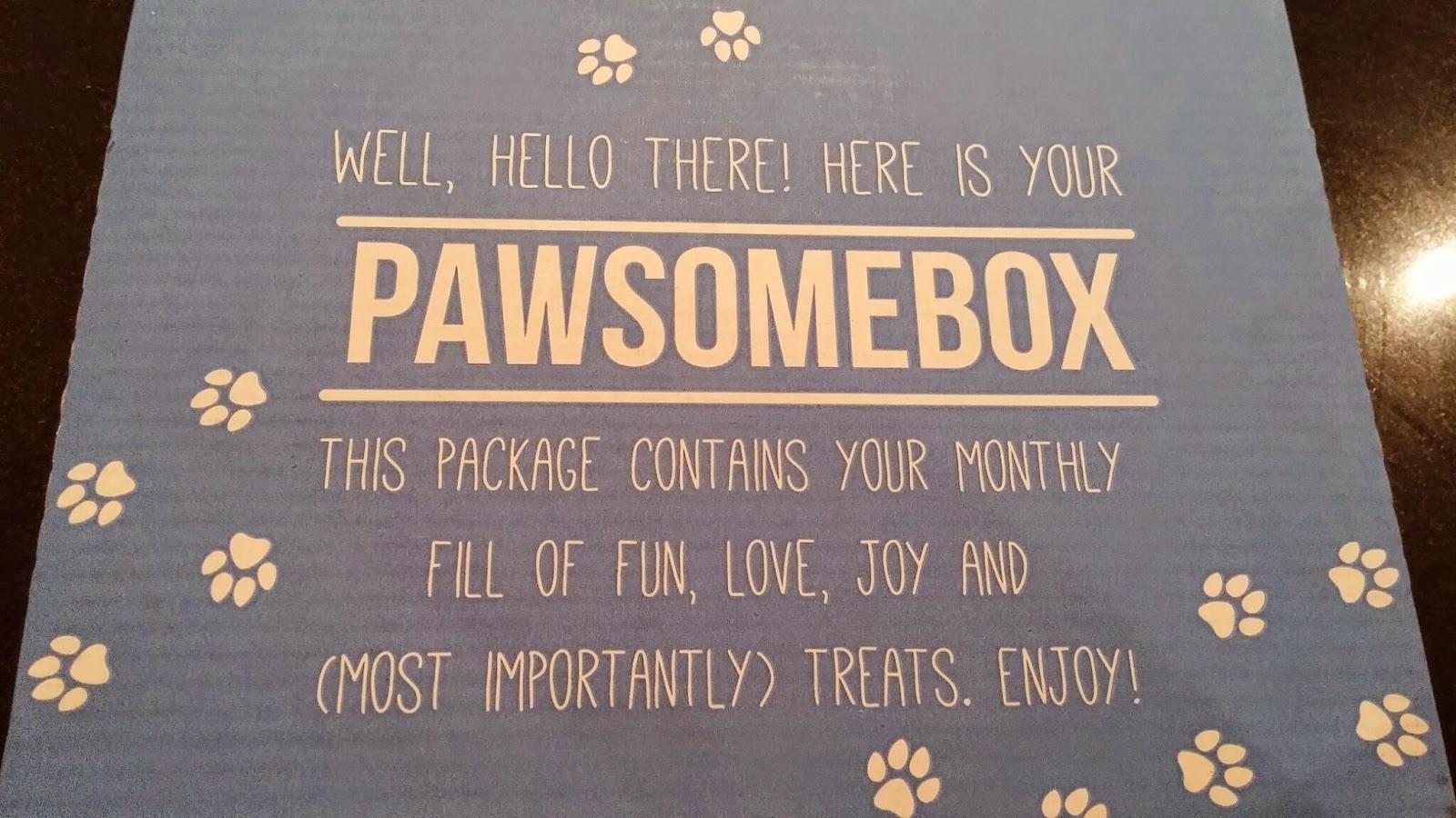 the Pawsome Box