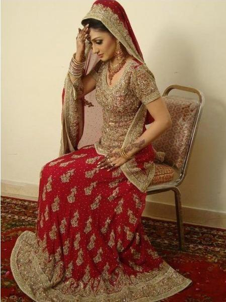 new winter bridal dress pakistani pakistani wedding