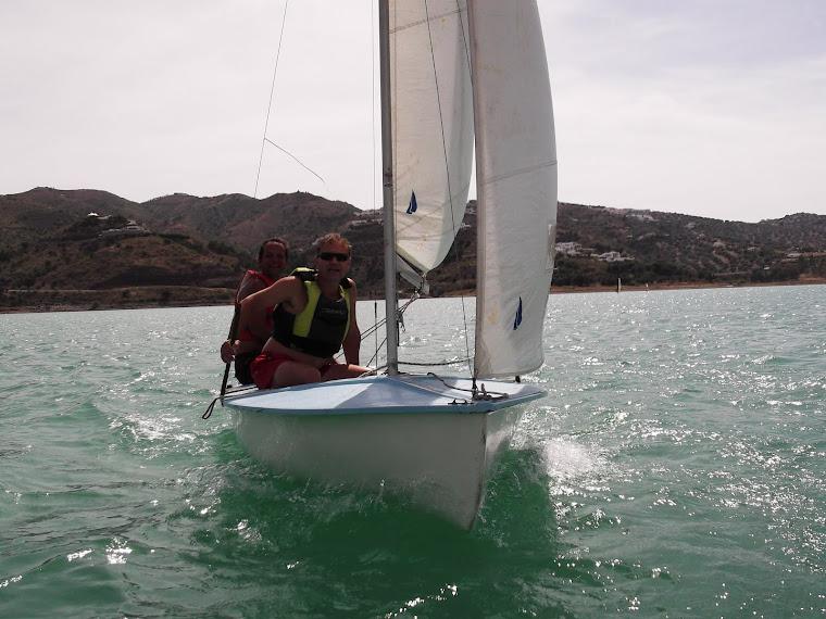 El 420 navegando!