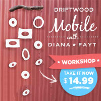 Driftwood Mobile with Diana Fayt