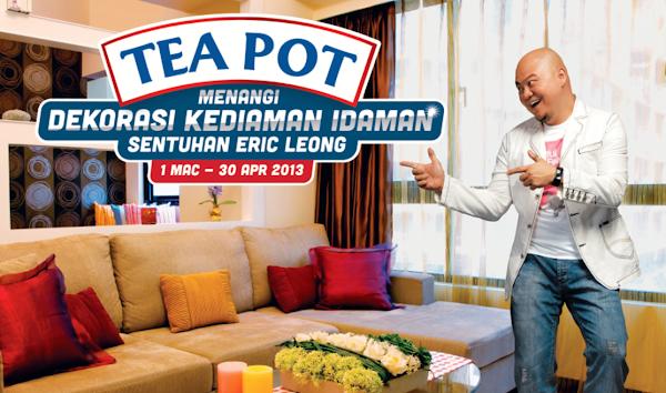 Peraduan Tea Pot 'Menangi Dekorasi Kediaman Idaman'
