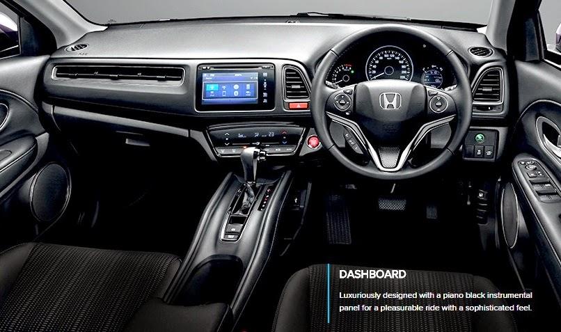 Model Urban SUV Honda HR-V Baru